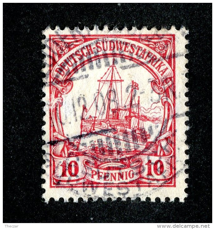 (1512)  S.W.A. 1906  Mi.26  (o)  Catalogue  € 1.80 - Colony: German South West Africa