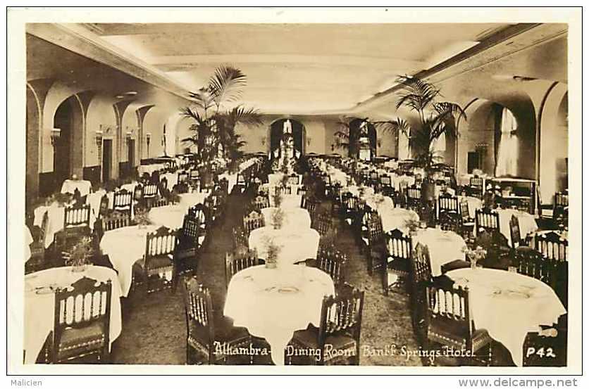 Pays Divers - Canada -ref 604  -banff Spring Hotel - Montreal ? -carte Bon état - - Canada