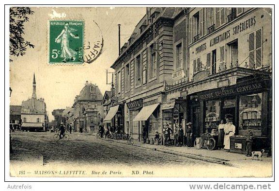 78  MAISONS LAFFITTE  RUE DE PARIS - Maisons-Laffitte