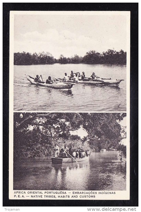 AFR2-93 MOZAMBIQUE NATIVE TRIBES HABIT AND CUSTOMS - Mozambique