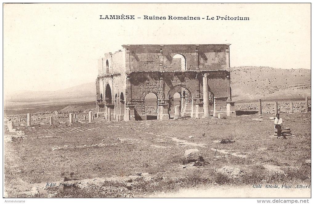 Lambèse - Ruines Romaines - Le Prétorium - Algérie
