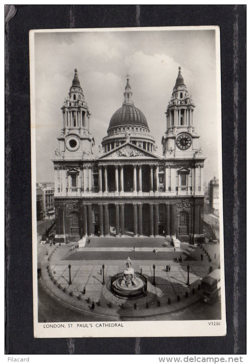 """40904  Regno  Unito,    London -  St.  Paul""""s  Cathedral,  VGSB  1953 - St. Paul's Cathedral"""