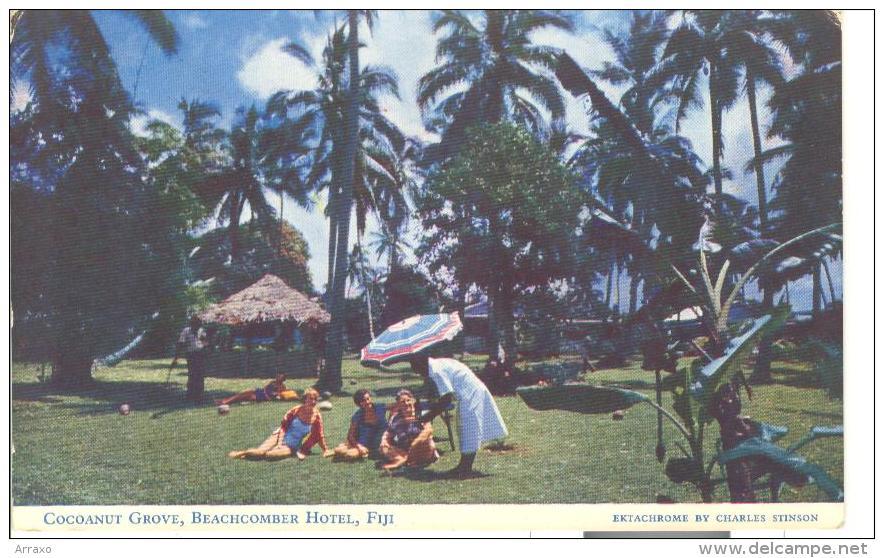 OCE001 - Cocoanut Grove - Beachcomber Hotel - Fiji - Figi