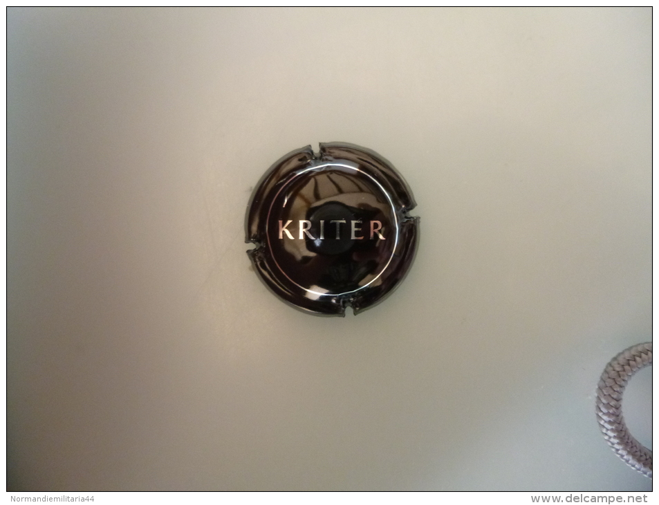 Capsule KRITER - Capsules & Plaques De Muselet