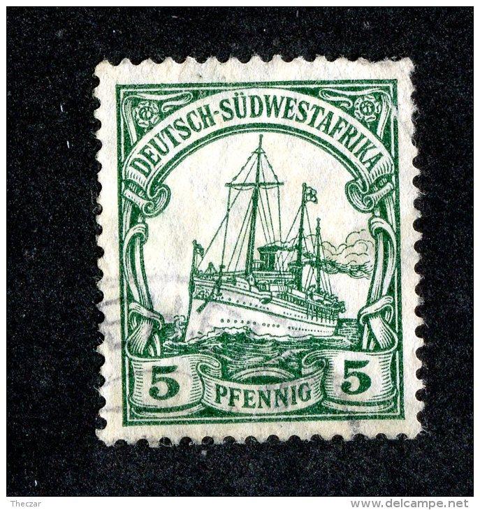 (1529)  S.W.A. 1906  Mi.25 (o)  Catalogue  € 1.70 - Colony: German South West Africa