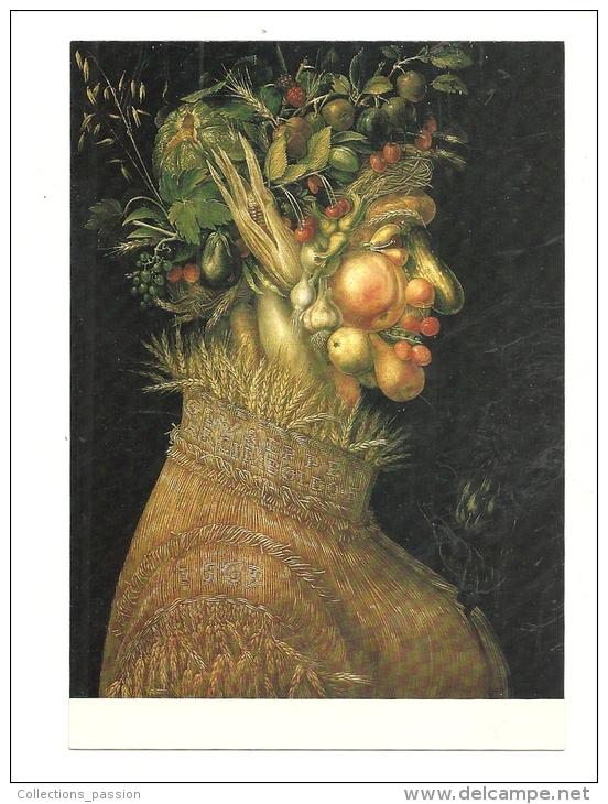 Cp, Peintures Et Tableaux, Giuseppe Arcimboldo - L´Eté - Paintings