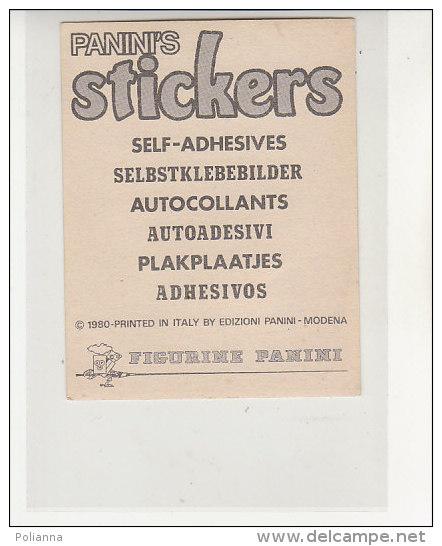 PO1102C# ADESIVO STICKERS PANINI 1980 - FIGURINE - WALT DISNEY - MINNIE TOPOLINO - Edizione Italiana