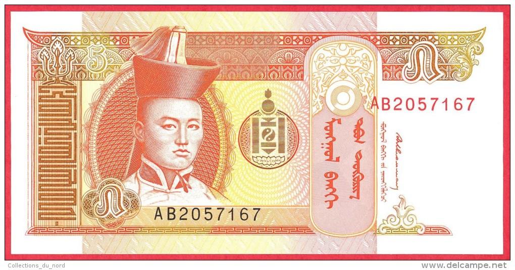 Mongolia -  5 Tugrik  1993  UNC / Papier Monnaie - Billet - Mongolie - Mongolia