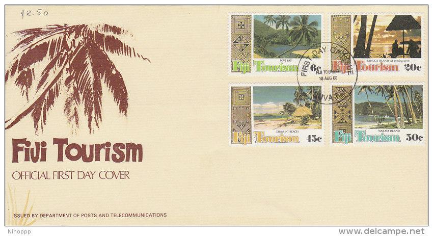 Fiji 1980 Tourism  FDC - Fiji (1970-...)