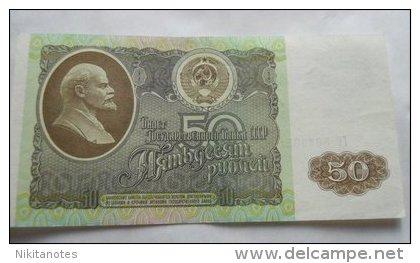 1992 RUSSIE 50 ROUBLES SOVIET RUSSIA URSS CCCP - Russie