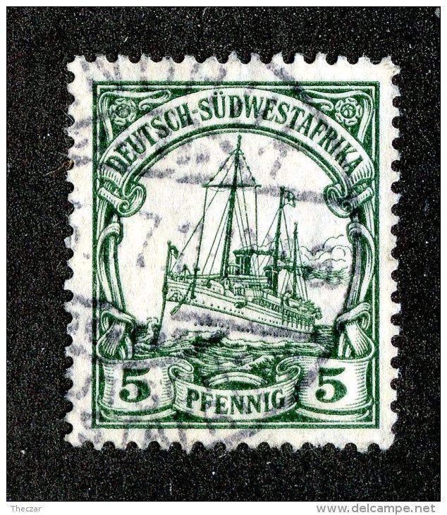(1948)  SW Africa 1906  Mi.25  (o)    Catalogue  € 1.70 - Colonia: Sudafrica – Occidental