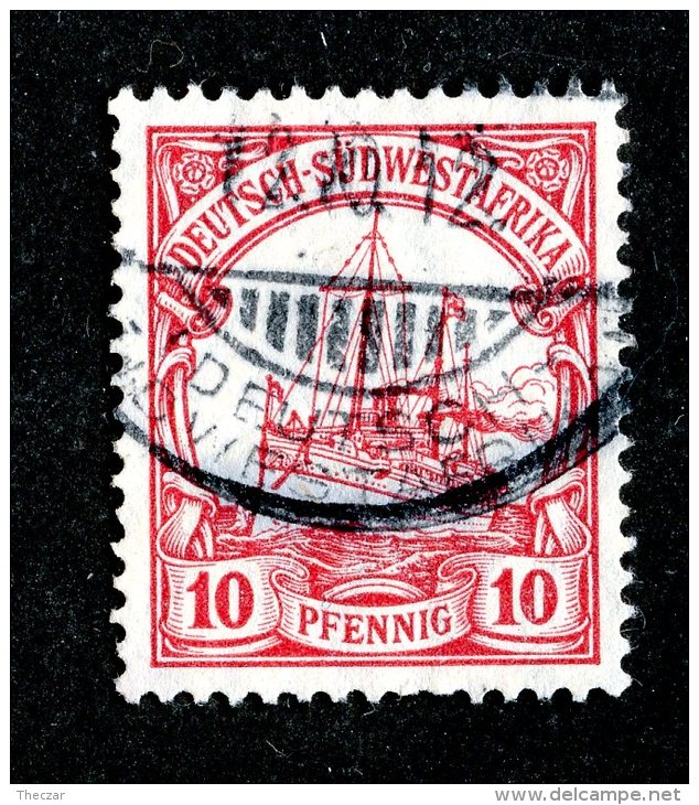 (1952)  SW Africa 1911  Mi.26b  (o)    Catalogue  € 20.00 - Colony: German South West Africa