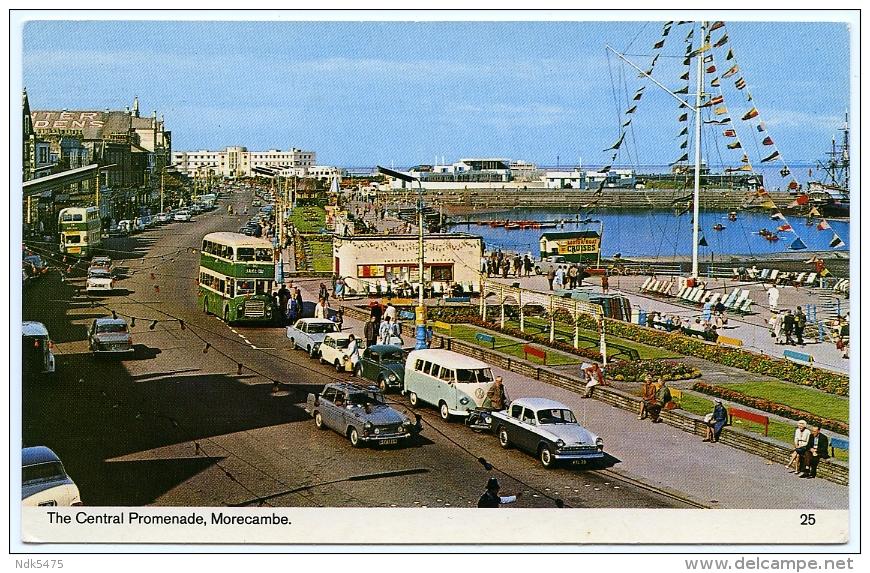 MORECAMBE : THE CENTRAL PROMENADE - Other