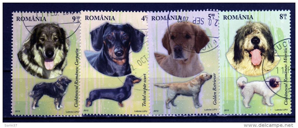 ROMANIA / ROMANIA / ROUMANIE 2012  Yvert Nr.  Usada    Perros - 1948-.... Repúblicas