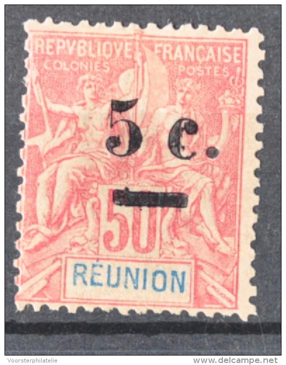 P 241 ++ RÉUNION 1900  HINGED / * - Réunion (1852-1975)