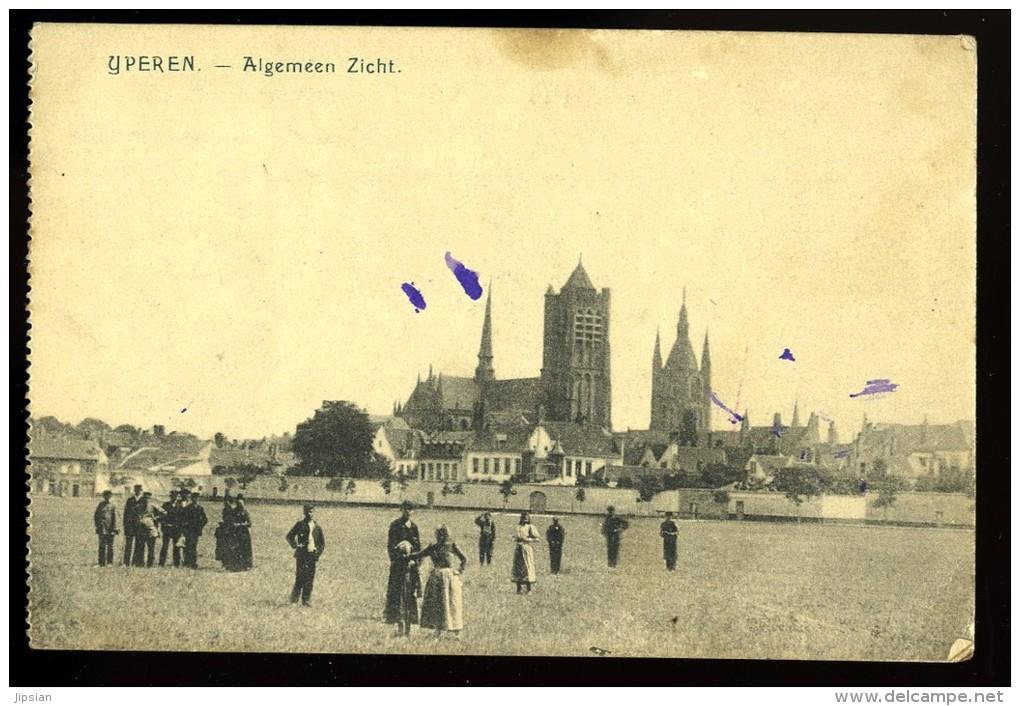 Cpa  Belgique Yperen Ypres  Algemeen Zicht    6ao7 - Ieper