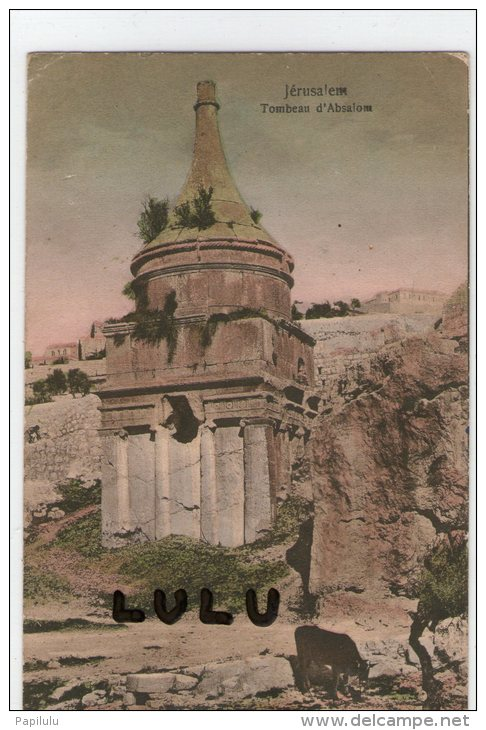 ISRAEL : Jerusalem; Tombeau D Absalom  ( Vache) - Israel