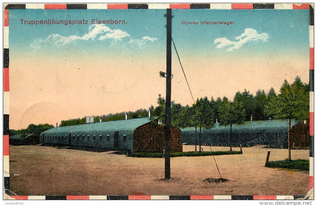ELSENBORN TRUPPENUBUNGSPLATZ - Elsenborn (camp)