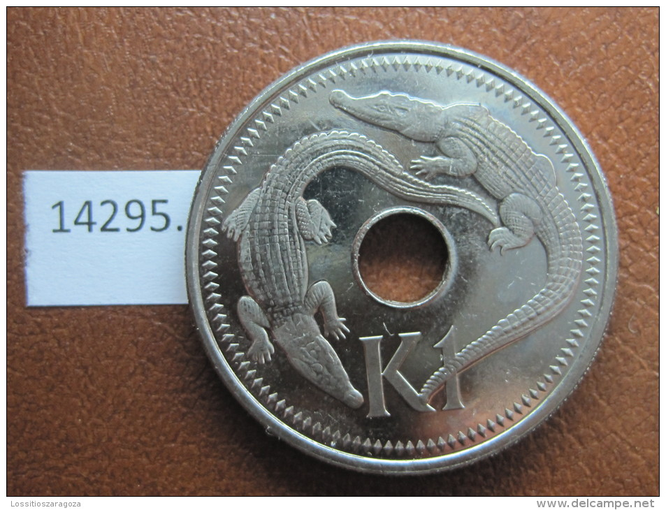 1 Kina 2004 Papua Nueva Guinea, Tipo Grande, Tamaño Grande - Papúa Nueva Guinea
