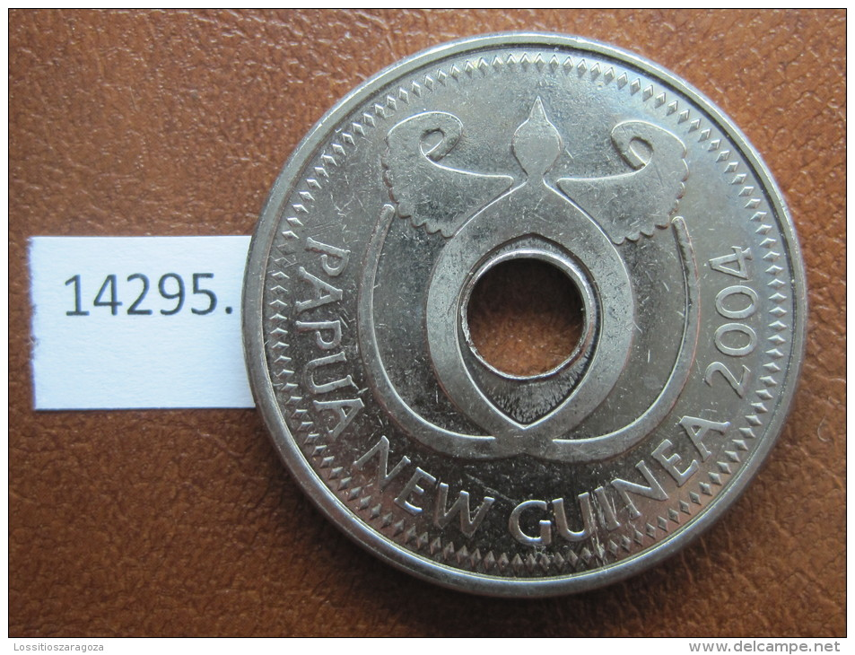1 Kina 2004 Papua Nueva Guinea, Tipo Grande, Tamaño Grande - Papuasia Nuova Guinea
