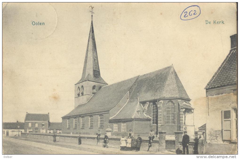 Op914:Oolen - De Kerk : N°81-tab: E11-m2: * TONDERLOO(ANVERS) * : Sterstempel - Olen
