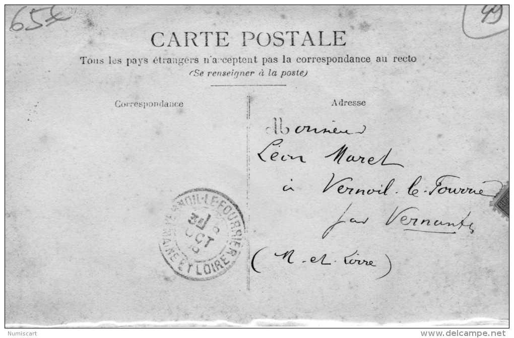 Cholet...carte Photo D Une Diligence Très Animée ...attelage Chevaux , Hommes , Chien Superbe - Cholet
