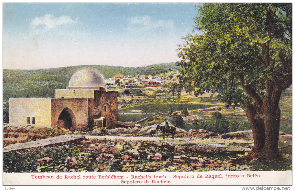 Rachel's Tomb, Palestine, 1900-1910s