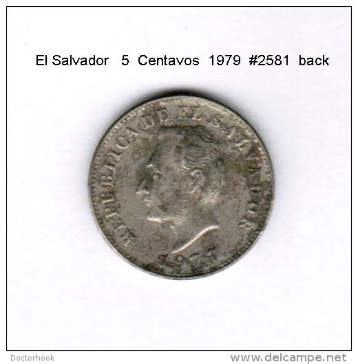 EL SALVADOR    5  CENTAVOS  1977   (KM # 149B) - Salvador