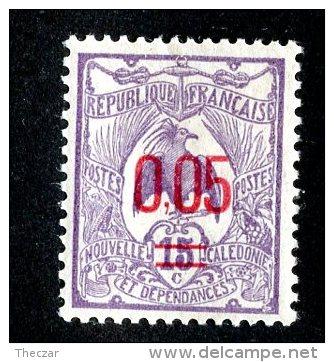 1141x)  New Caledonia 1922- Sc # B123  M*  ( Catalogue $.60 ) - New Caledonia