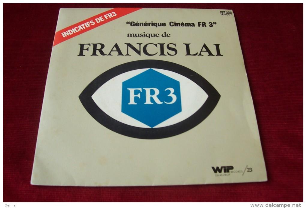 FRANCIS LAI  °  GENERIQUE CINEMA FR 3 - Hit-Compilations