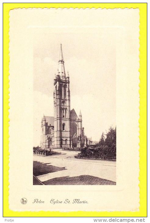 * Arlon - Aarlen (Luxembourg - La Wallonie) * (Nels, Ed J. Breyer) église Saint Martin, Kerk, CPA, Rare, Old, Church - Arlon