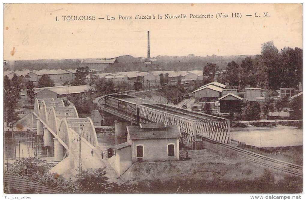 31 - Toulouse - Les Ponts D'accès à La Nouvelle Poudrerie - Toulouse