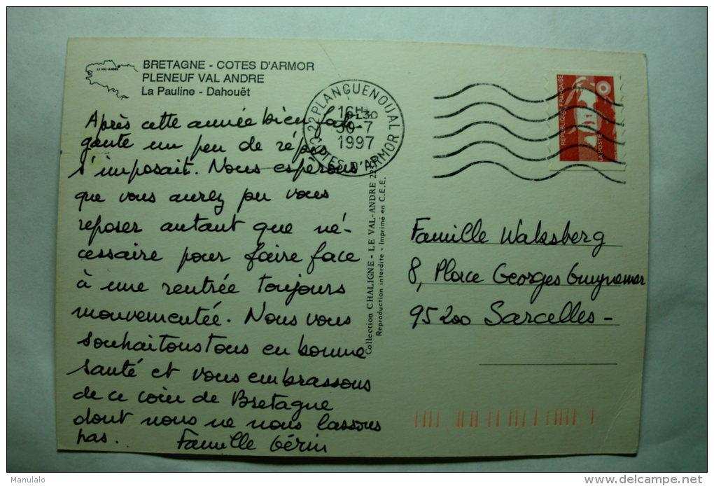 D 22 - Pleneuf Val André - La Pauline - Dahouët - Tréguier