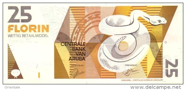 ARUBA P. 12 25 F 1993 UNC - Aruba (1986-...)