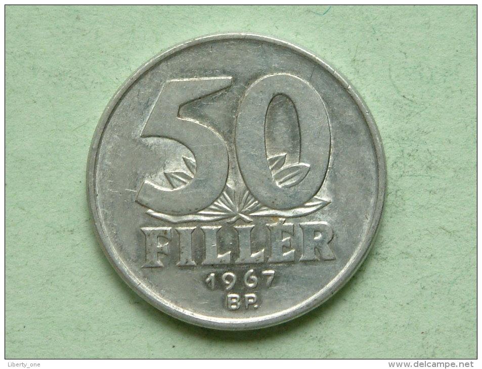 1967 BP - 50 FILLER / KM 574 ( For Grade, Please See Photo ) !! - Hongrie