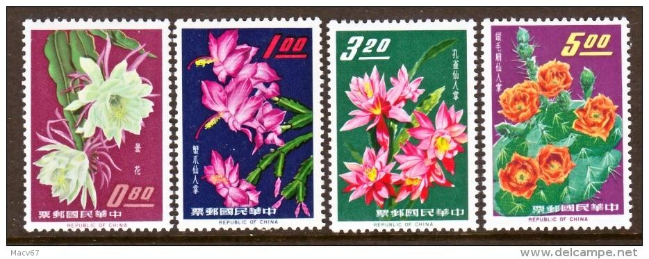 ROC 1386-9  **  FLOWERS - 1945-... Republic Of China