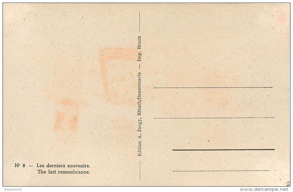 CPA - Patriotique - Anti Hitler, Anti-Allemande - Illustrateur  éditeur; A. Jaegy N° 8 (voir 2 Scans) - War 1939-45