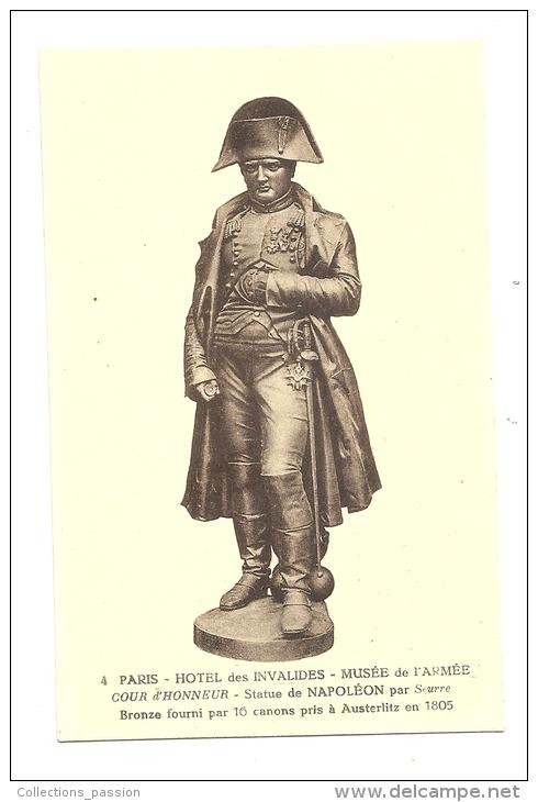 Cp, Sculpture, Statue De Napoléon - Sculptures