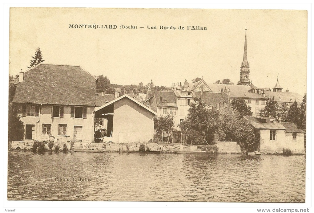 MONTBELIARD Les Bords De L´Allan (Tallat) Doubs (25) - Montbéliard