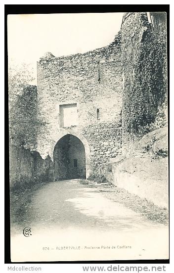 73 ALBERTVILLE / Ancienne Porte De Conflans / - Albertville