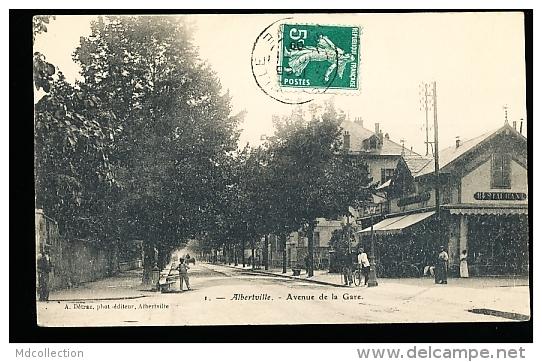73 ALBERTVILLE / Avenue De La Gare / - Albertville
