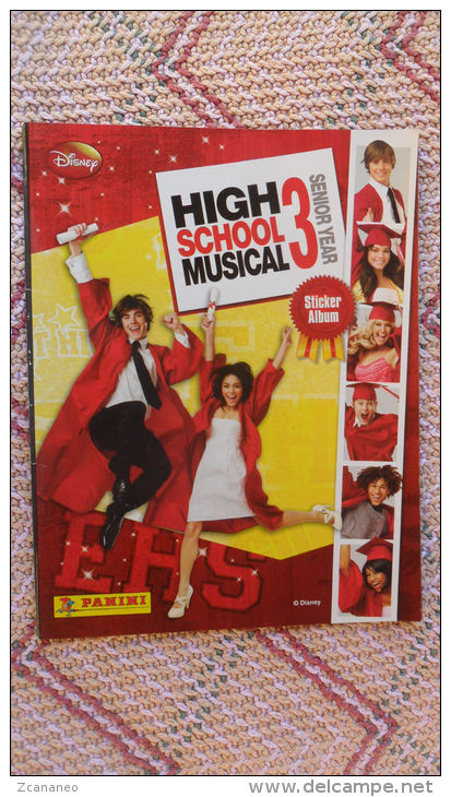 ALBUM HIGH SCHOOL MUSICAL 3 - CON SEI FIGURINE - - Panini