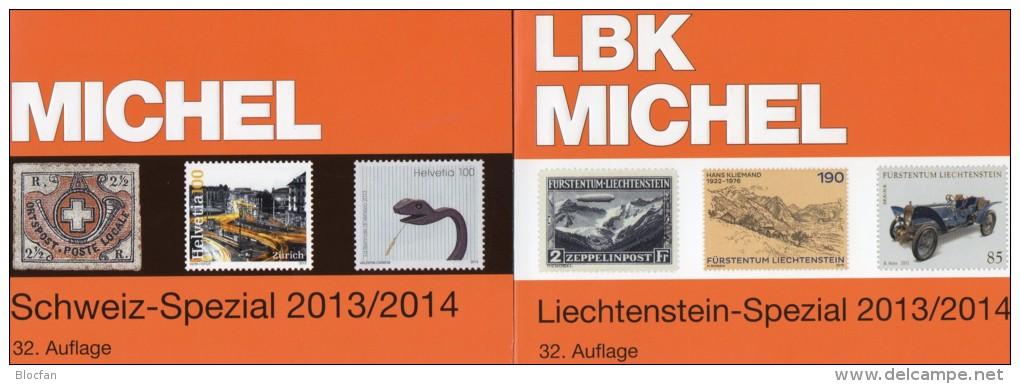 Schweiz+Liechtenstein LBK / MICHEL Spezial Briefmarken Katalog 2013/2014 Neu 68€ UNO Genf Ämter Catalogues Of Helvetia - Other