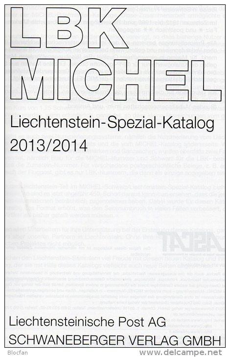 Schweiz+Liechtenstein LBK / MICHEL Spezial Briefmarken Katalog 2013/2014 Neu 68€ UNO Genf Ämter Catalogues Of Helvetia - Creative Hobbies