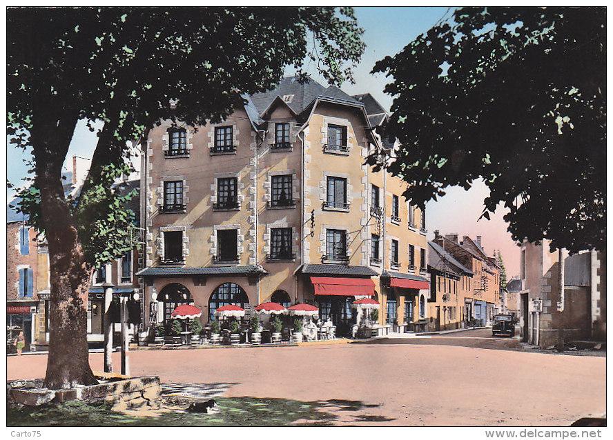 Sainte Geneviève 12 -  Place Grand Hôtel Lac De Sarrans - Editeur E.C. Rueil - Non Classificati