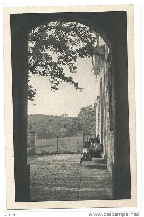 Les Courmettes Par Tourette Sur Loup  - 04- , Fédération Française Des éclaireuses, CPSM 9 14, écrite 1955 - Scoutismo