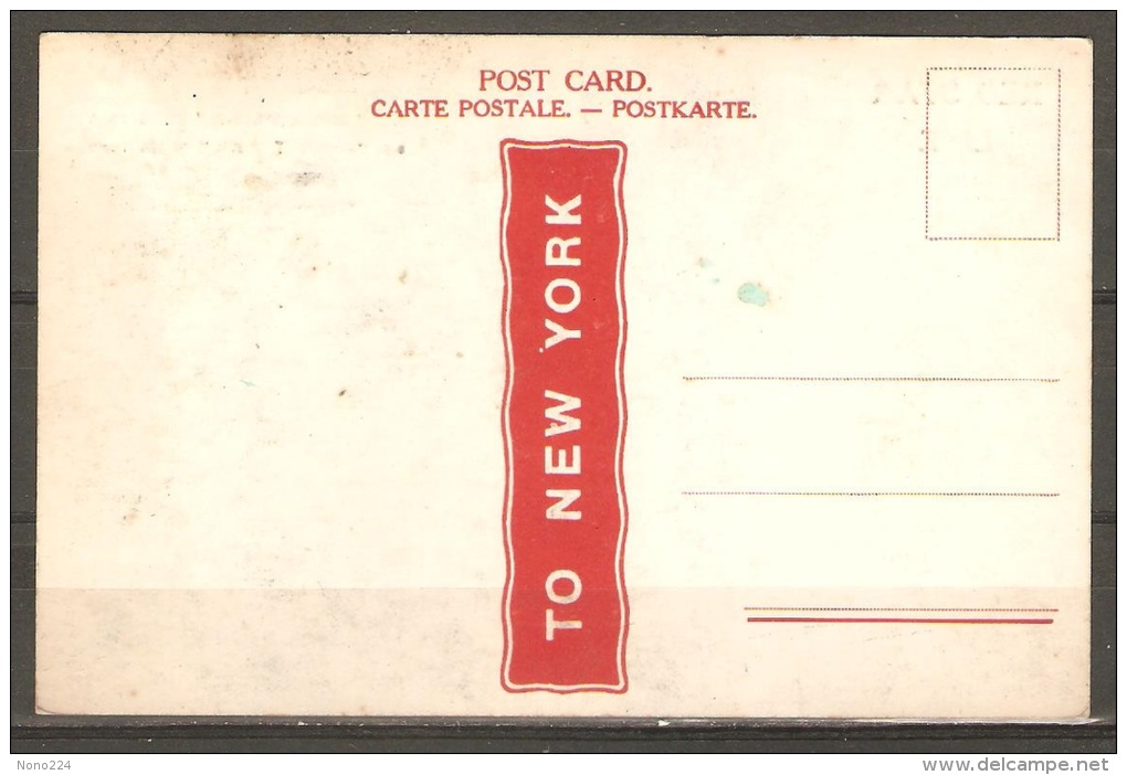 Carte Postale ( Paquebot Minnewaska ) - Paquebots