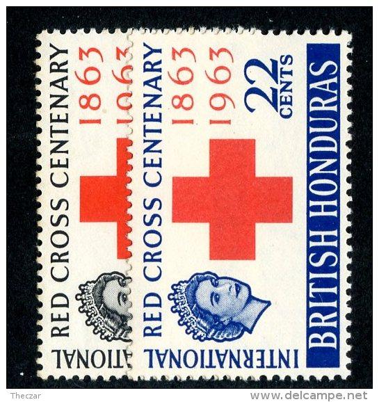 2629x)  Br.Honduras 1963 - SG #215/16 /  Mnh** - British Honduras (...-1970)
