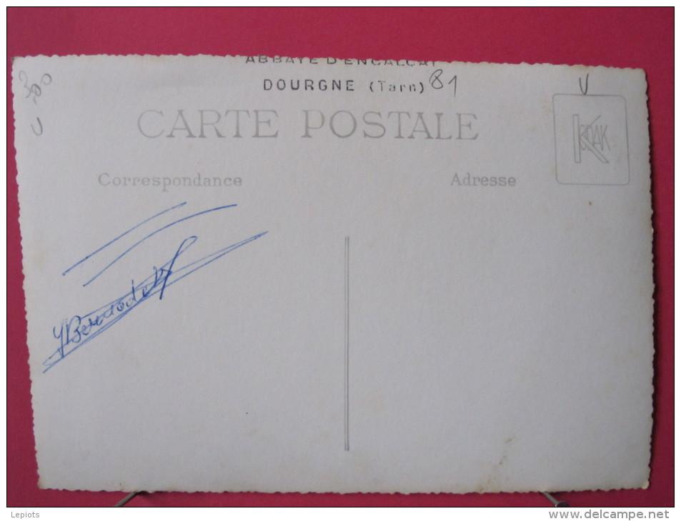 Carte Très Peu Courante - 81 - Dourgne - Abbaye D´en Calcat - Le Sanctuaire - Scan Recto-verso - Dourgne