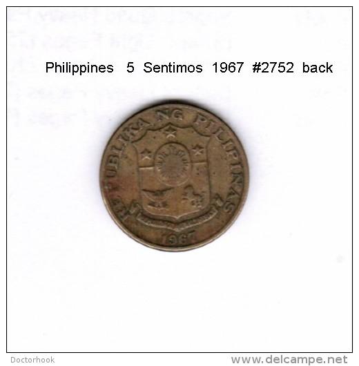 PHILIPPINES   5  SENTIMOS  1967  (KM # 197) - Philippines